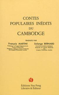 Contes populaires inédits du Cambodge