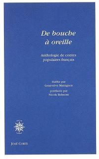 De bouche à oreilles : anthologie de contes populaires français