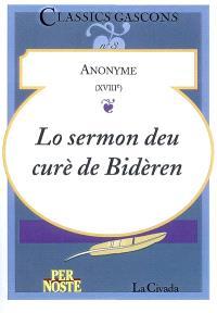 Lo sermon deu curè de Bidèren
