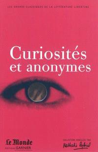 Curiosités et anonymes