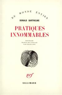 Pratiques innommables