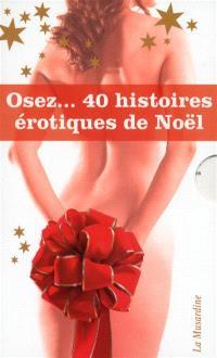 Coffret Osez 40 histoires érotiques de Noël