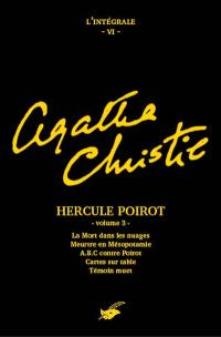 Agatha Christie : l'intégrale, Volume 6, Hercule Poirot. Volume 3