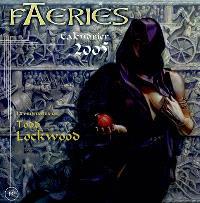 Faeries : calendrier 2005 : 12 peintures de Todd Lockwood