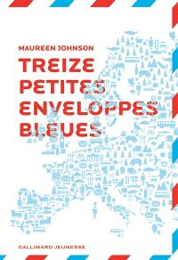 13 petites enveloppes bleues