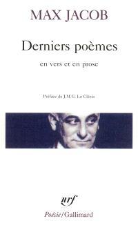 Derniers poèmes en vers et en prose