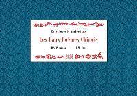 Encyclopédie antipodiste. Volume 1, Les faux poèmes chinois