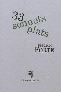 33 sonnets plats