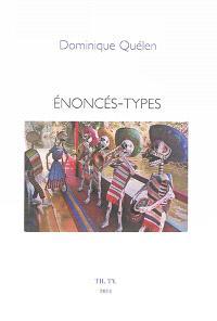 Enoncés-types