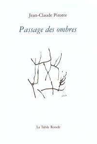 Passage des ombres : poèmes