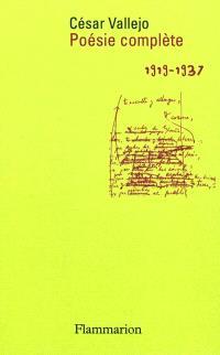 Poésie complète : 1919-1937