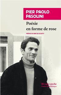 Poésie en forme de rose