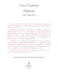 Poèmes : 1962, 1968, 1972