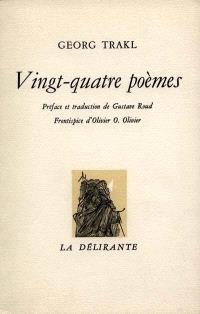 Vingt-quatre poèmes