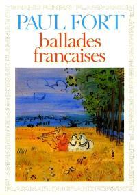 Ballades françaises : choix, 1897-1960