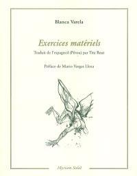 Exercices matériels : 1978-1993
