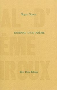 Journal d'un poème