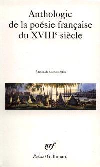 Anthologie de la poésie française du XVIIIe siècle