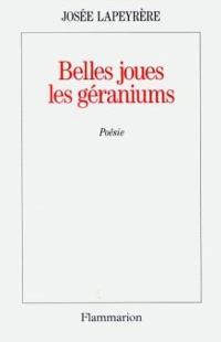 Belles joues les géraniums