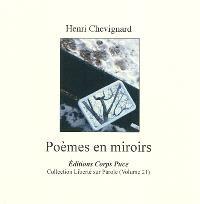 Poèmes en miroirs