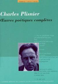 Oeuvres poétiques complètes. Volume 2, 1932-1936