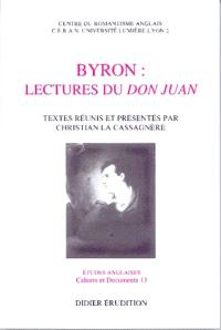 Byron : lectures du Don Juan
