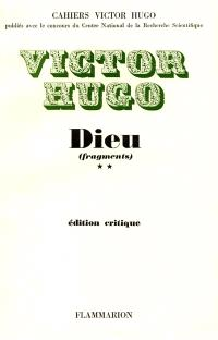 Dieu : fragments. Volume 2
