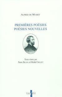 Premières poésies, poésies nouvelles : Alfred de Musset : actes de la journée d'étude, Paris-Sorbonne, 18 novembre 1995