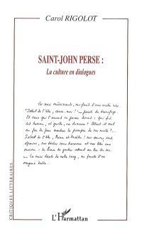 Saint-John Perse : la culture en dialogues
