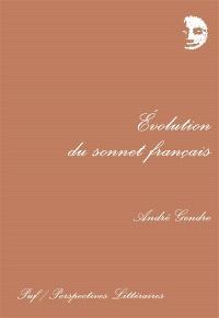 Evolution du sonnet français