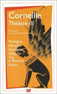 Théâtre. Volume 3