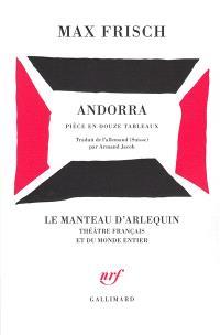 Andorra : pièce en douze tableaux