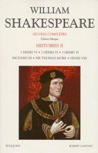 Oeuvres complètes, Histoires. Volume 2