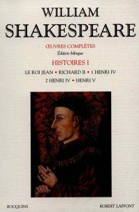 Oeuvres complètes, Histoires. Volume 1