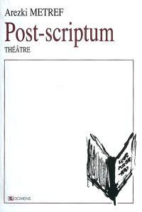 Post scriptum à La nuit du doute