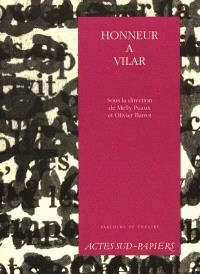 Honneur à Vilar