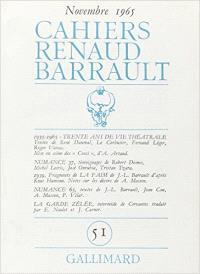 Cahiers Renaud-Barrault. n° 51, 30 ans de vie théâtrale : 1935-1965