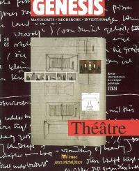 Genesis. n° 26, Théâtre