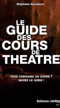 Le guide des cours de théâtre