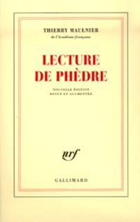 Lecture de Phèdre