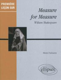 Measure for measure de William Shakespeare