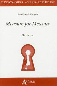 Measure for measure, Shakespeare