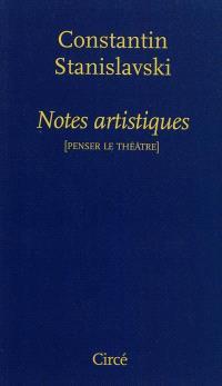 Notes artistiques