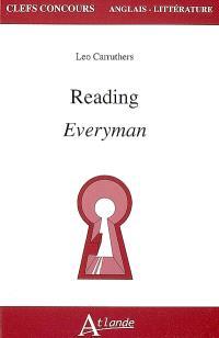 Reading Everyman