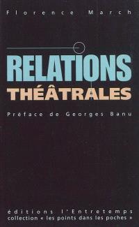 Relations théâtrales