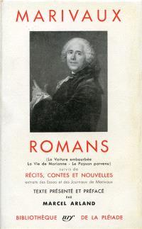 Romans, récits, contes et nouvelles