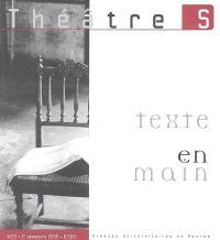 Théâtre(s) en Bretagne. n° 22, Texte en main