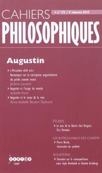 Cahiers philosophiques. n° 122, Augustin