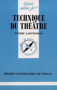 Technique du théâtre