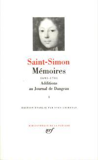 Mémoires. Volume 1, 1691-1701
